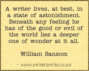 William_Sansom_Writing_Quote